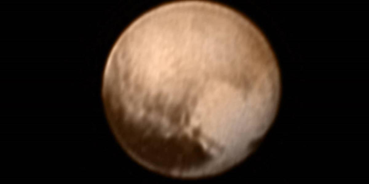 Las imágenes más cercanas de Plutón