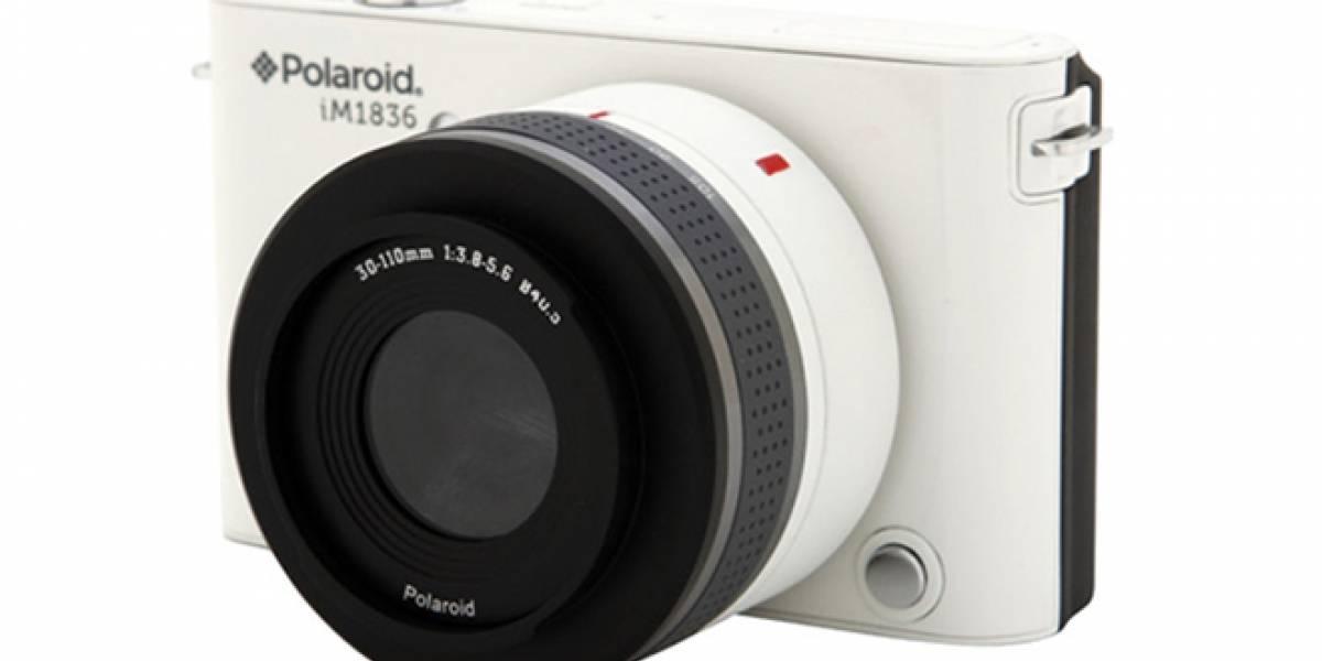 CES 2013: Polaroid devela su nueva cámara sin espejo iM1836