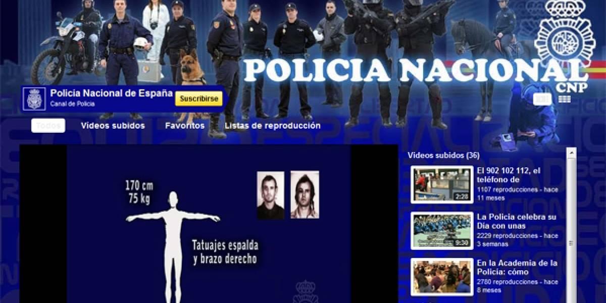 España: Policía busca criminales en Youtube