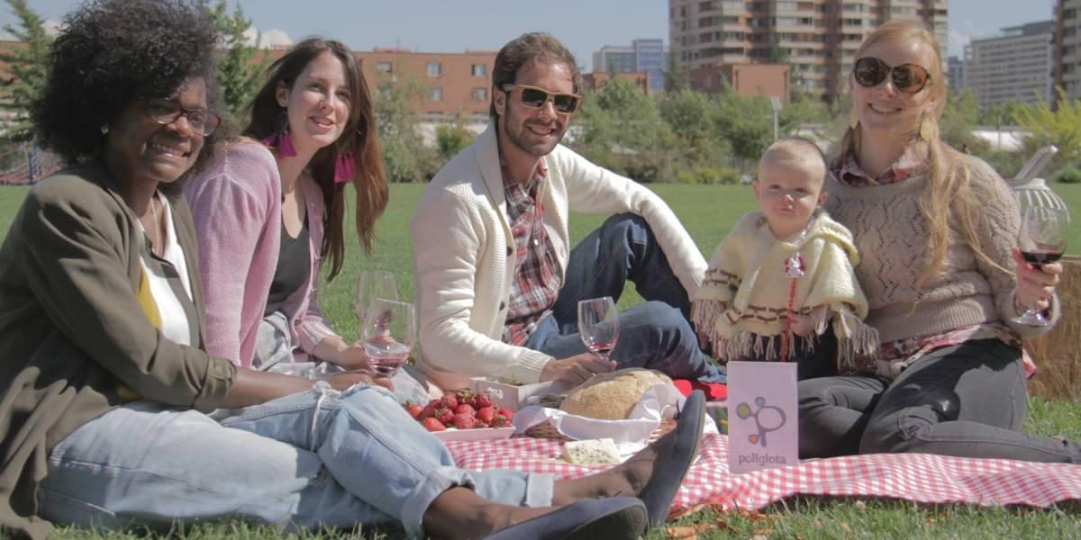 Políglota se adelanta a la Navidad y regala un picnic de idiomas