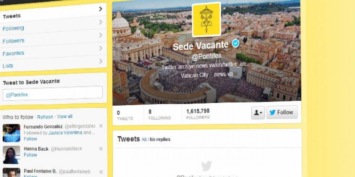 Desaparecen los tweets de Benedicto XVI