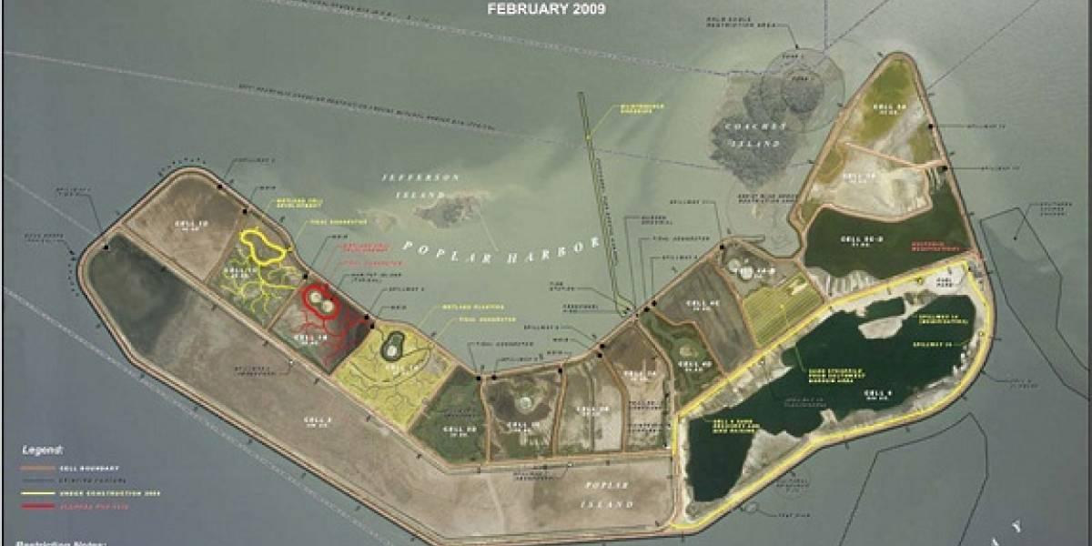 Poplar: La isla artificial que construye el ejército de Estados Unidos ¿Habrá otras?