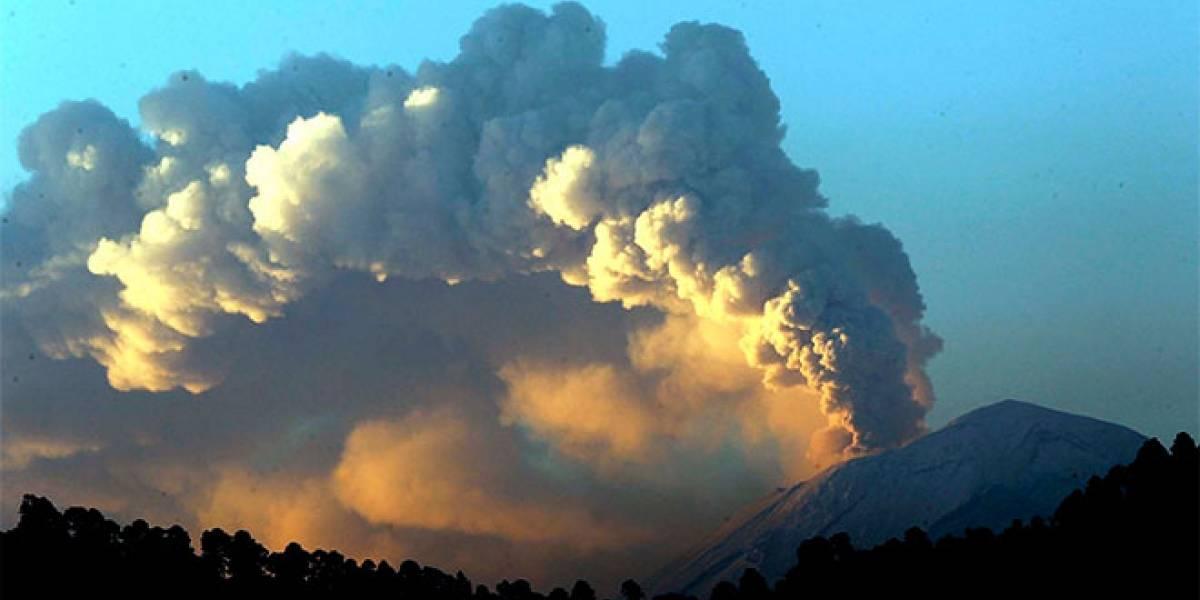 México: El Popocatépetl ha comenzado a hacer erupción, colocándolo en alerta Fase 2