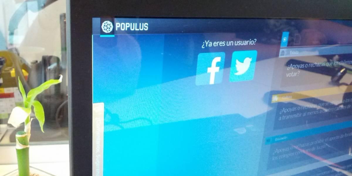 Populus, una herramienta para votar informado en las elecciones en Chile