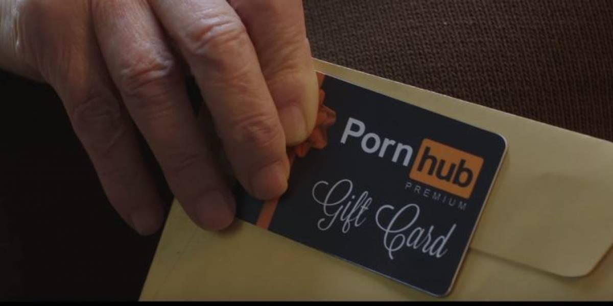 Pornhub quiere que regales pornografía a tus abuelos