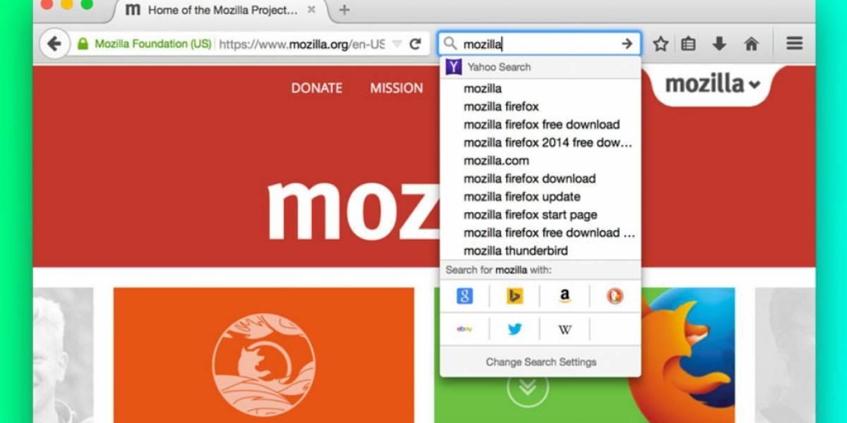 Firefox tendrá una nueva interfaz de búsqueda