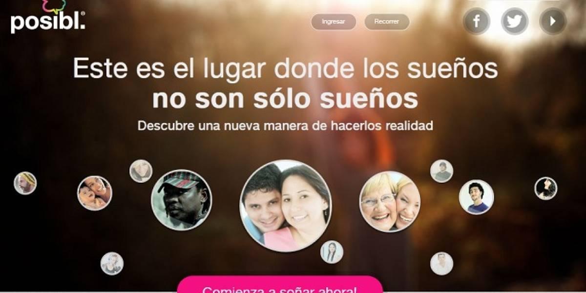 Posibl.com: La red social solidaria que ayuda a concretar tus sueños