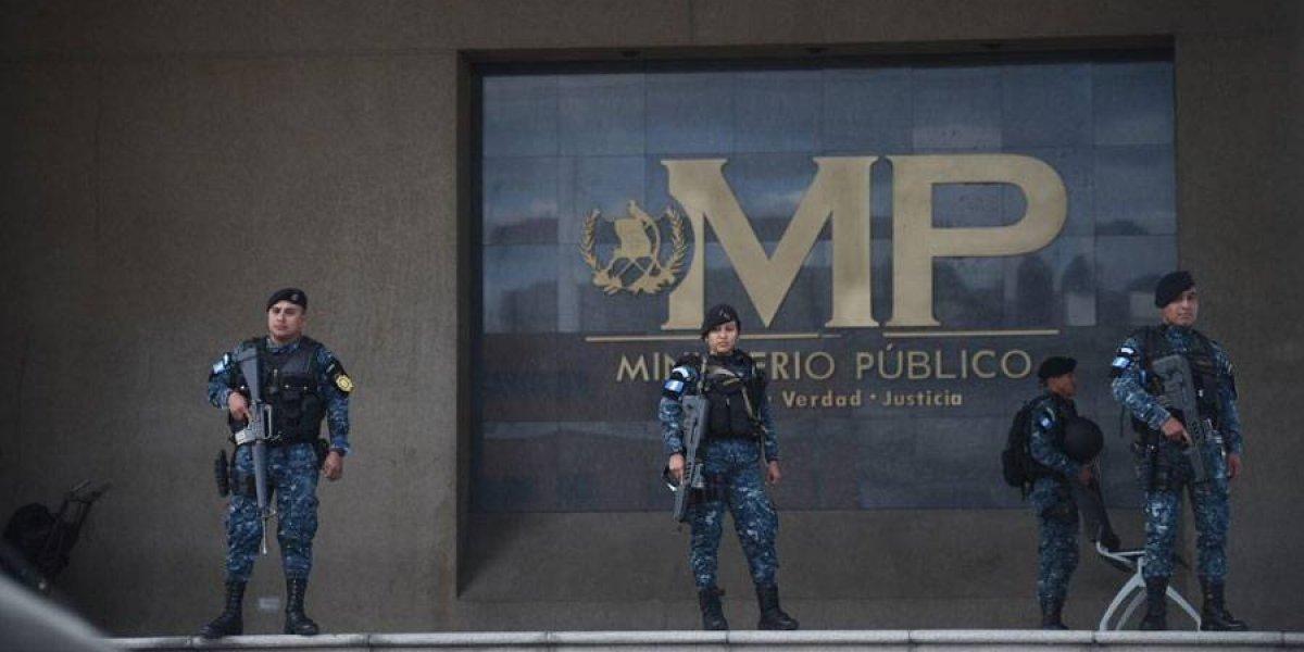 Ministerio Público aplica acciones de prevención ante posibles ataques contra su personal