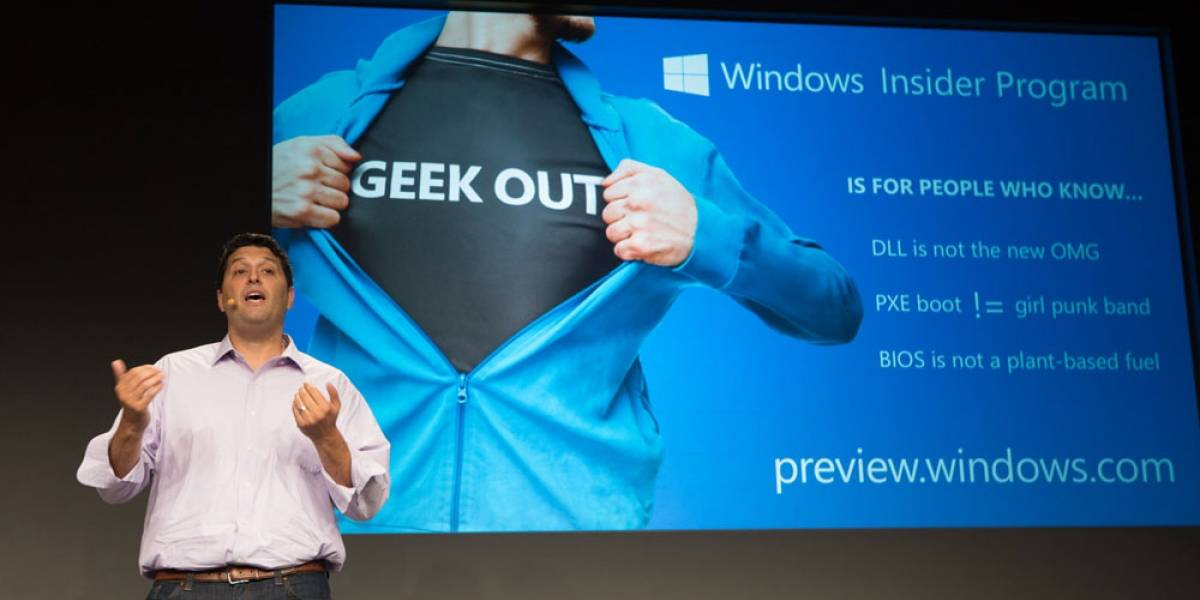 Microsoft otorgará acceso anticipado a Windows 10 por medio del programa Windows Insider