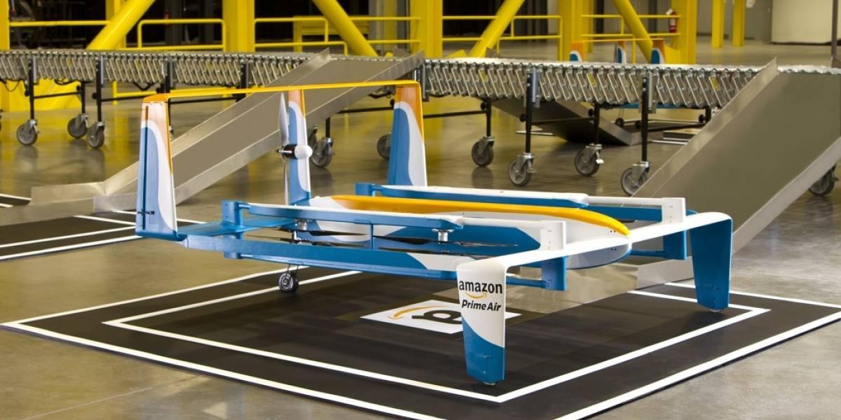 Así funciona el dron de Amazon Prime Air