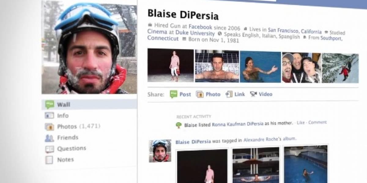 Facebook estrena nuevo diseño de páginas de perfil