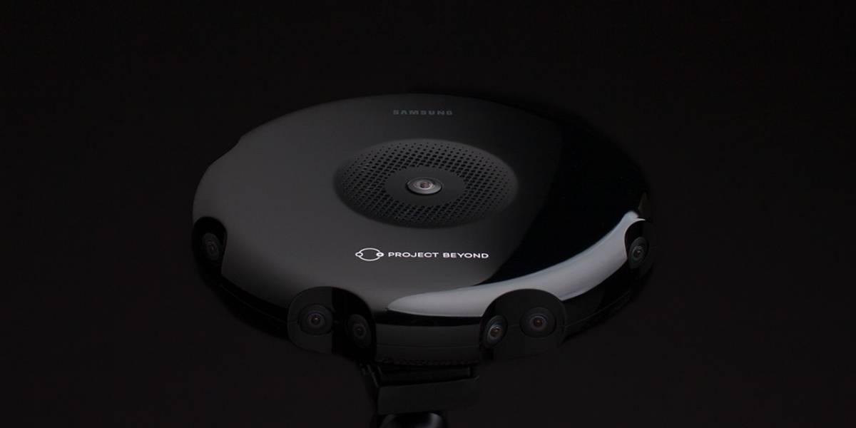 Samsung revela Project Beyond, su sistema de camaras para grabar realidad virtual