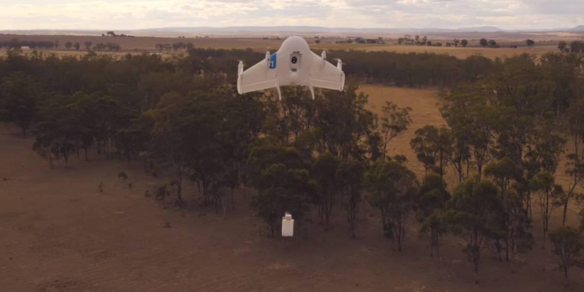 Patente revela más detalles del sistema de entregas con drones de Google