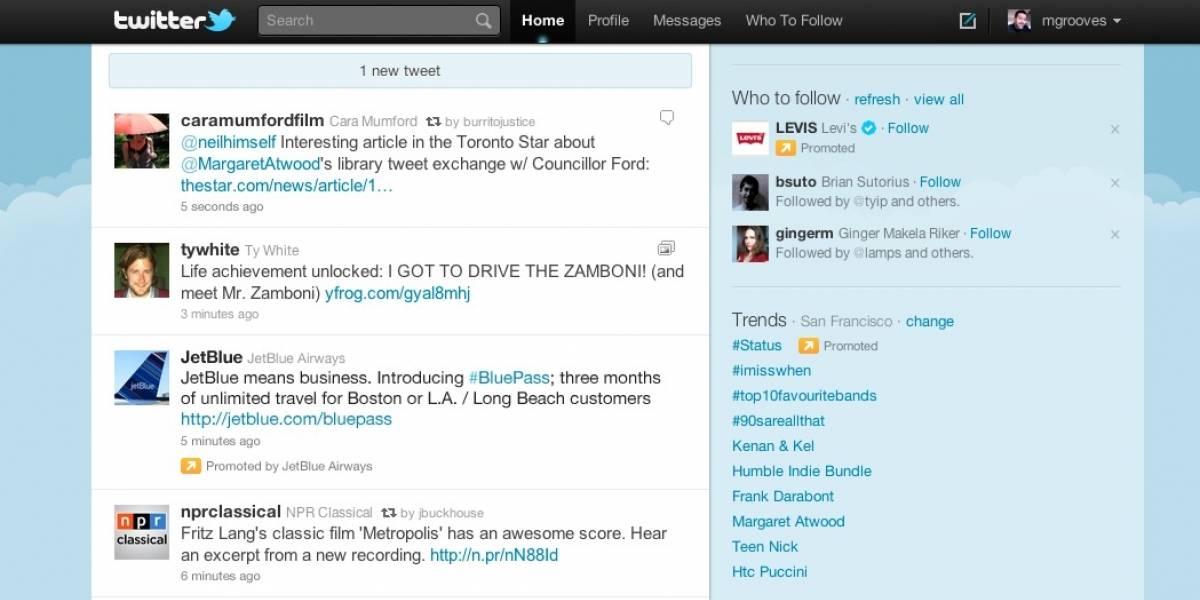 Twitter empezará a meter publicidad en el timeline