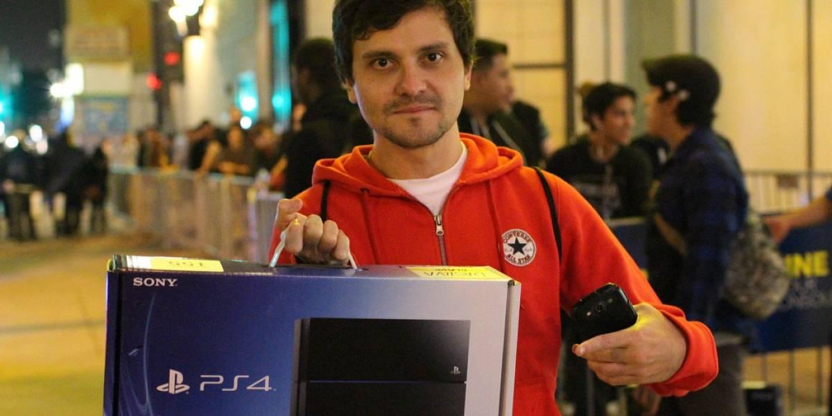 La PlayStation 4 se lanzó en Nueva York