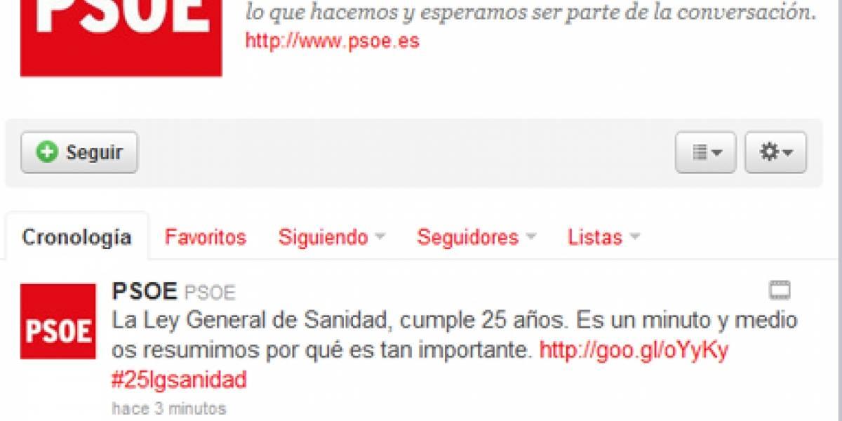 España: El PSOE ya tiene su decálogo para el uso del Twitter