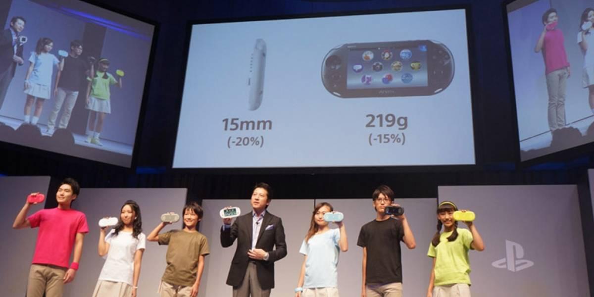 Sony rediseña PS Vita y lanza PS Vita TV