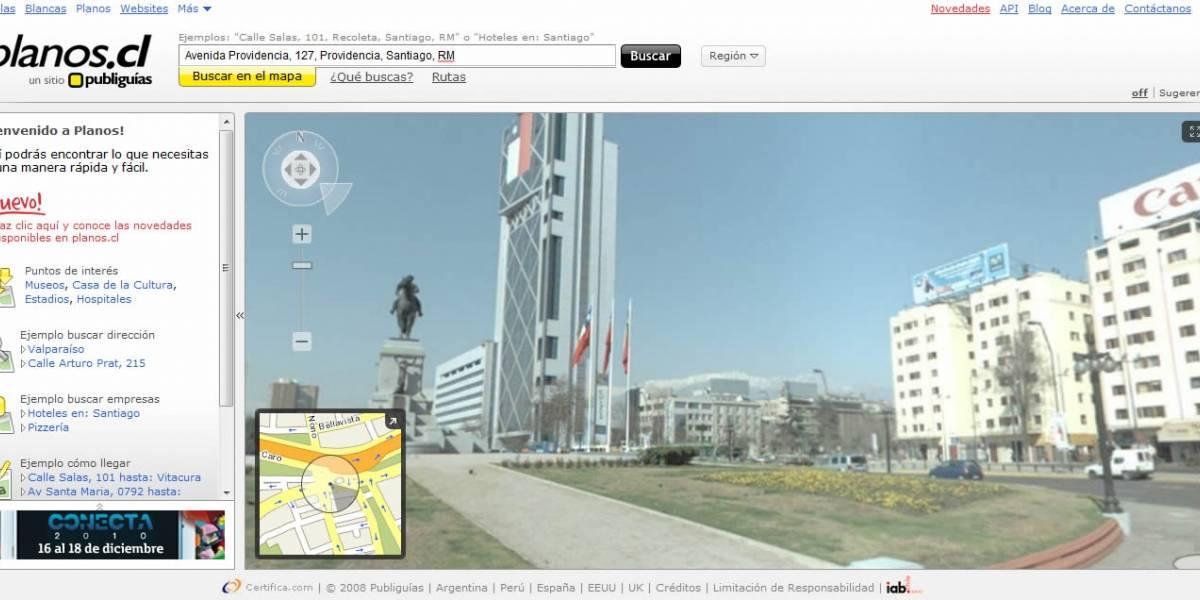 Chile: Publiguías lanzó Street Diving, primer servicio tipo Google Street View del país