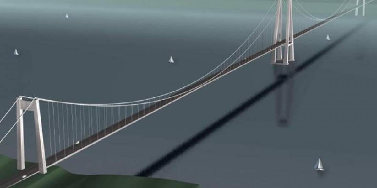 Los cinco puentes más largos del mundo y el puente del Chacao