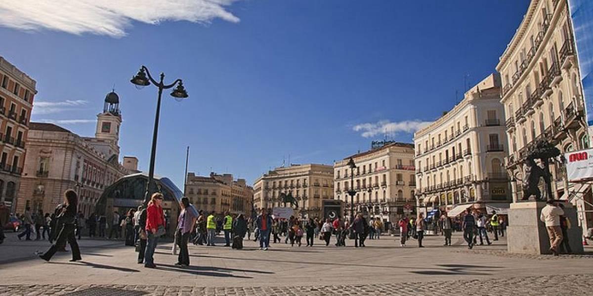 España: Baldosas inteligentes ofrecen WiFi gratuito en la Puerta del Sol