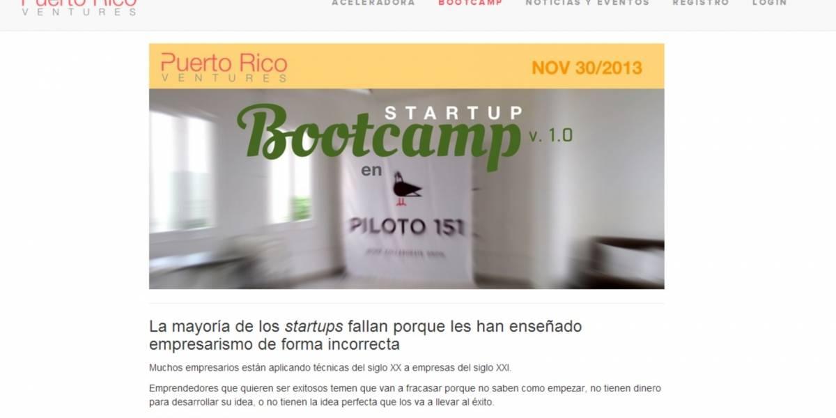Startup Bootcamp en Puerto Rico