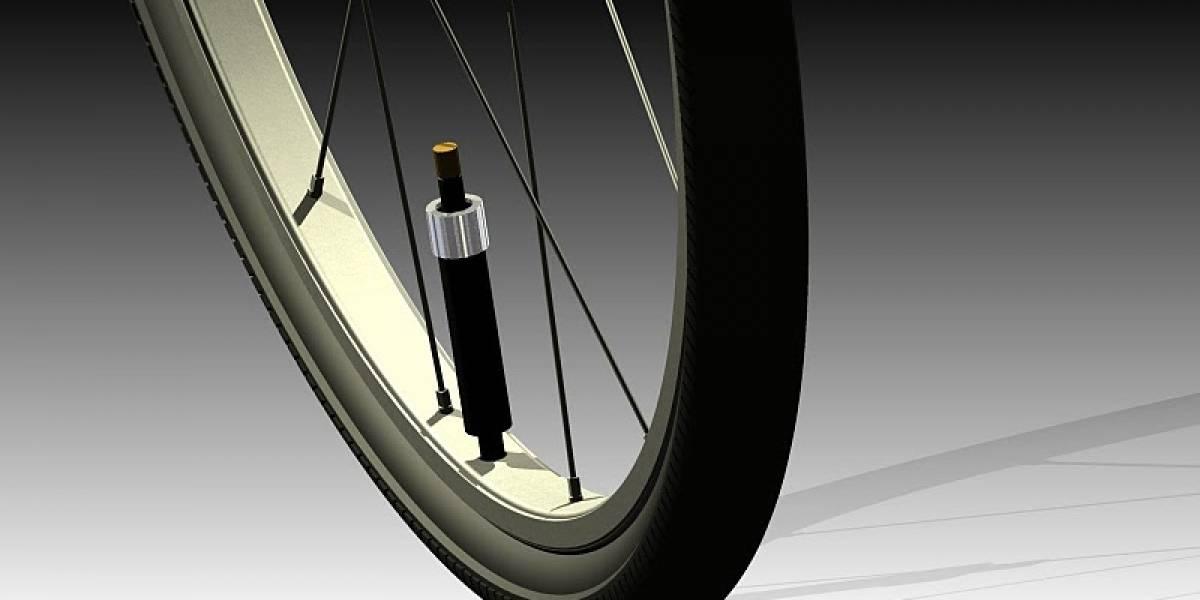 PumpTire: concepto de rueda que se infla sola