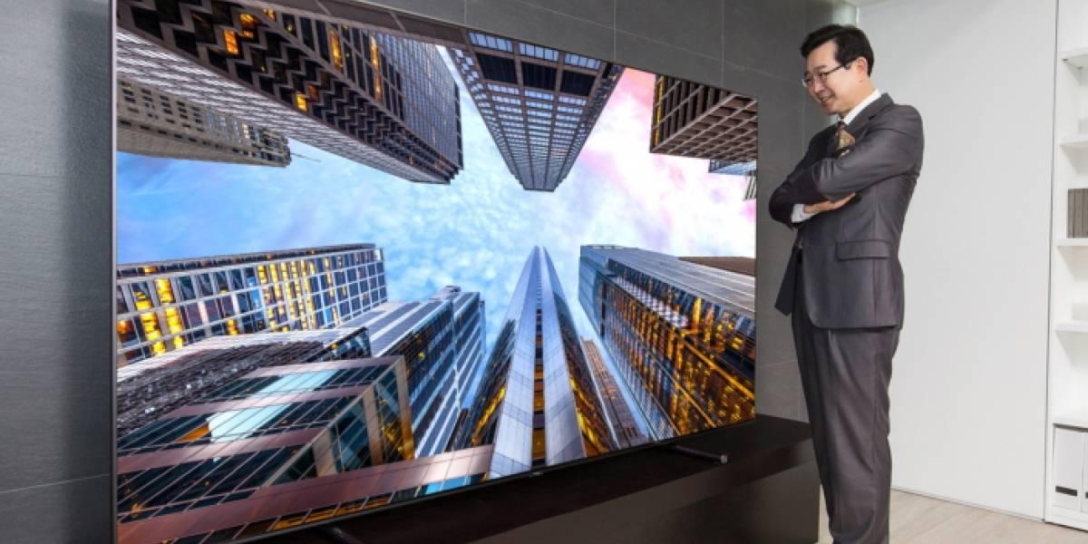 Este televisor gigante de Samsung cuesta 20 mil dólares