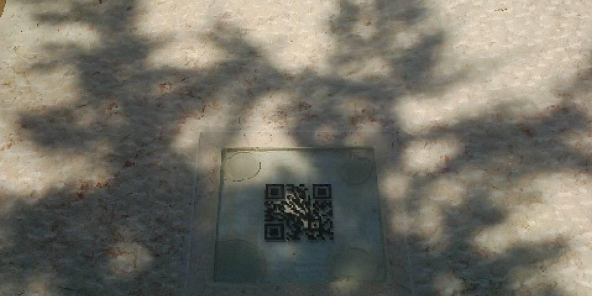 Israelí pone código QR en tumba de su madre para tener un epitafio dinámico