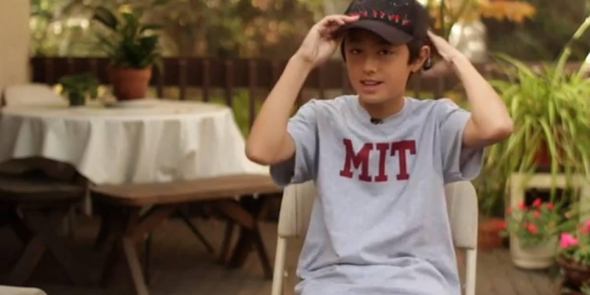 Niño de 13 años es profesor en el MIT