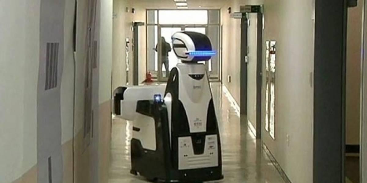 Corea del Sur está probando robots como guardias de seguridad en cárceles