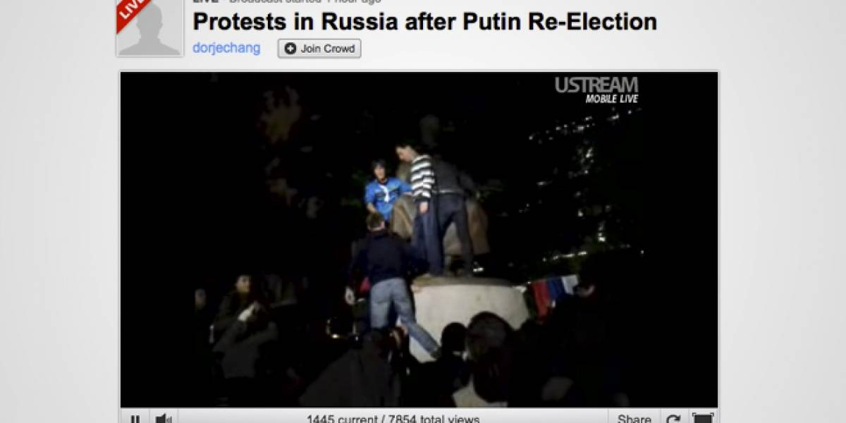 UStream.tv cae a raíz de ataque DDoS y culpan al Gobierno de Rusia