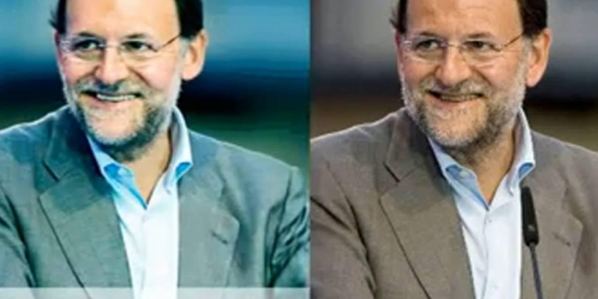 España: Photoshop pone guapetón a Mariano Rajoy en su nueva Web (Video)
