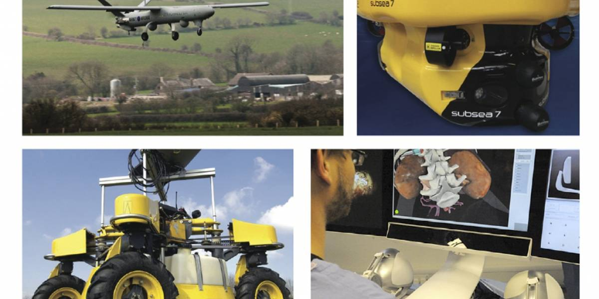 Reino Unido planea experimentar con robots en espacios públicos
