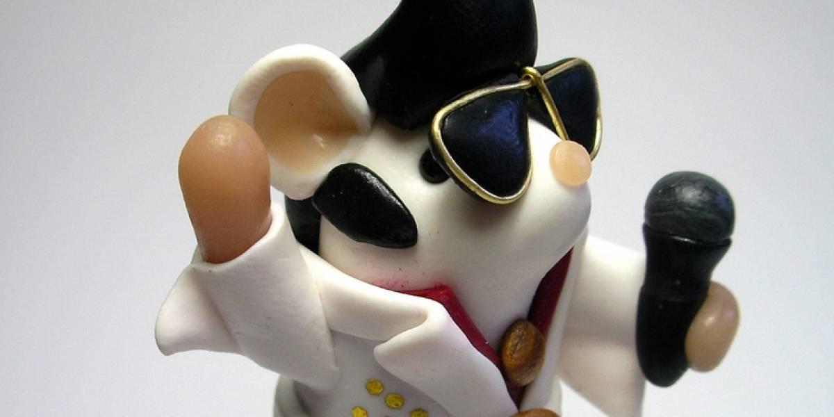 Artista crea ratones genéticamente modificados con ADN de Elvis