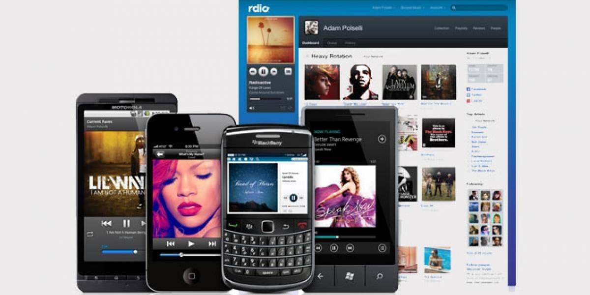 Rdio planta cara a Spotify con música gratuita