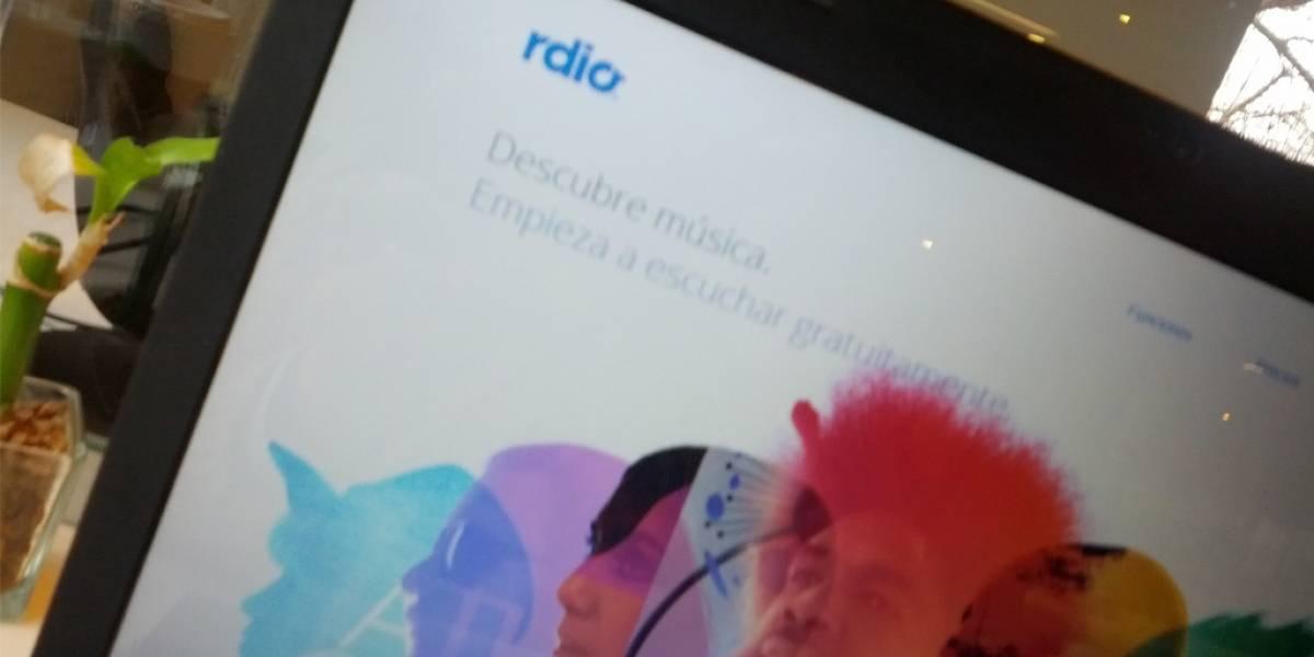 Rdio ofrecerá planes gratuitos con publicidad