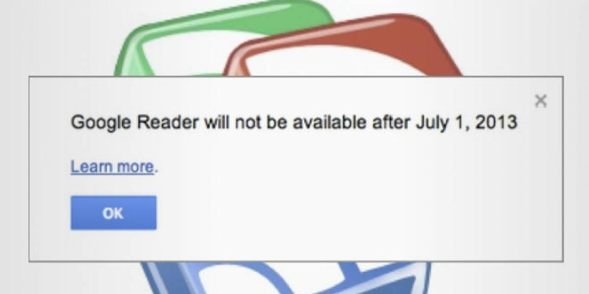 Google Reader y la dependencia a un servicio