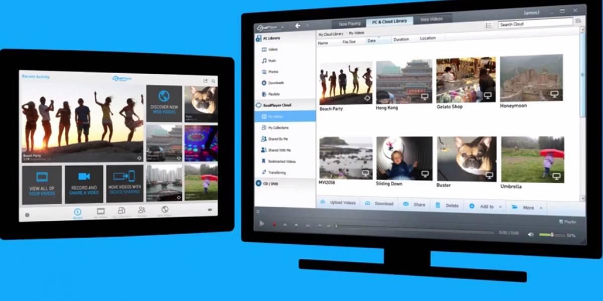 RealPlayer vuelve con servicio para reproducir videos en la nube