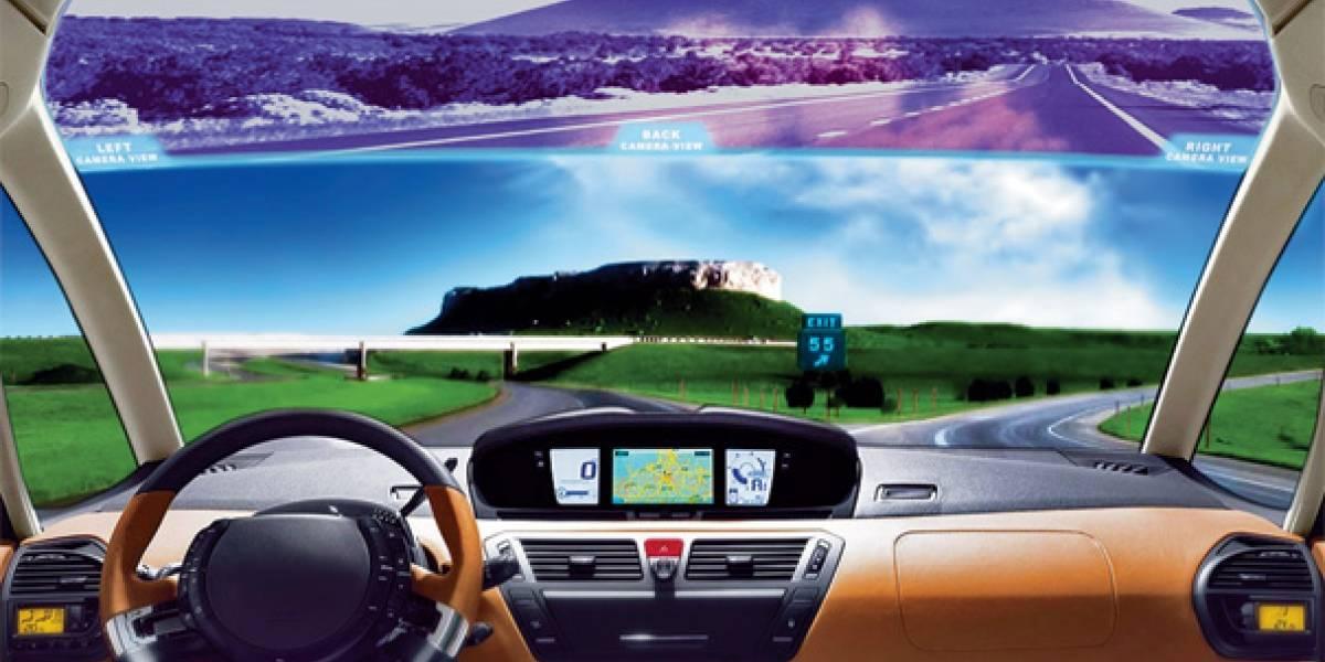 Full-rear-view windscreen monitor: tu espejo retrovisor en el parabrisas