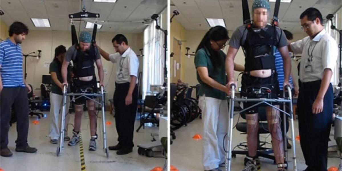 Hombre parapléjico logra caminar gracias a un bypass neuronal