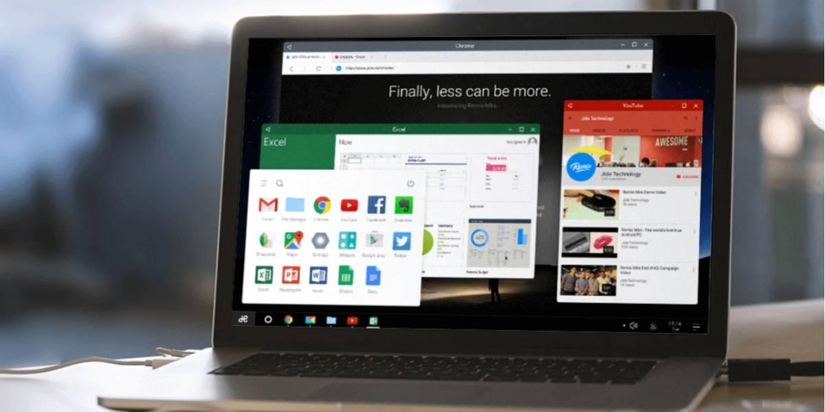Remix OS llevará Android a las PC y Mac antiguas