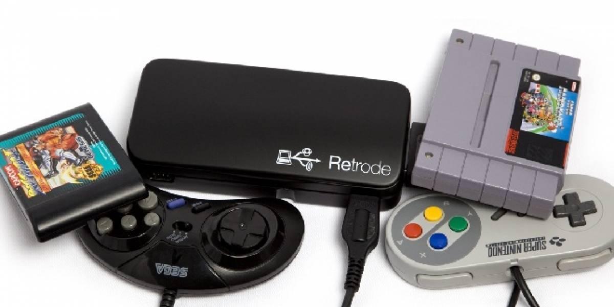 Retrode 2, el adaptador para jugar SNES y Genesis en el PC y con controles originales