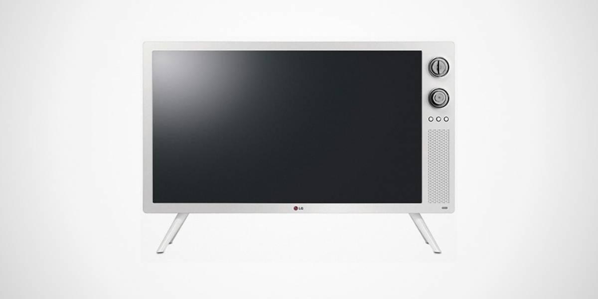 LG lanza televisor retro con diseño de los '70
