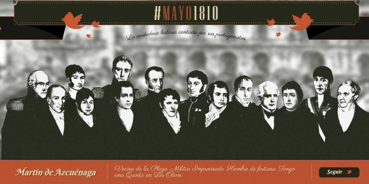 Argentina: Un sitio web permite revivir la revolución del 25 de Mayo de 1810 en tiempo real