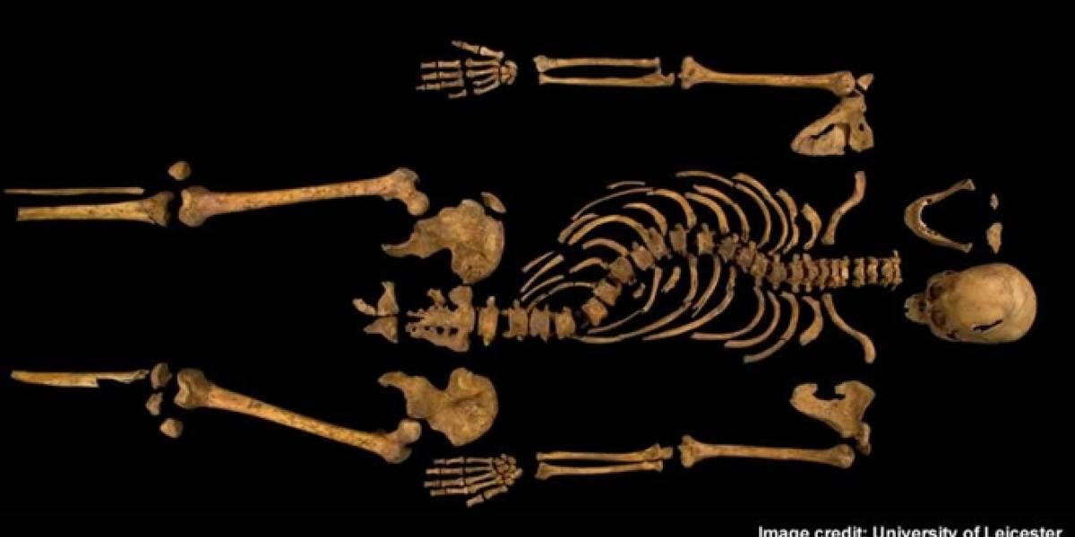 Encuentran el cadáver de Ricardo III de Inglaterra bajo un estacionamiento