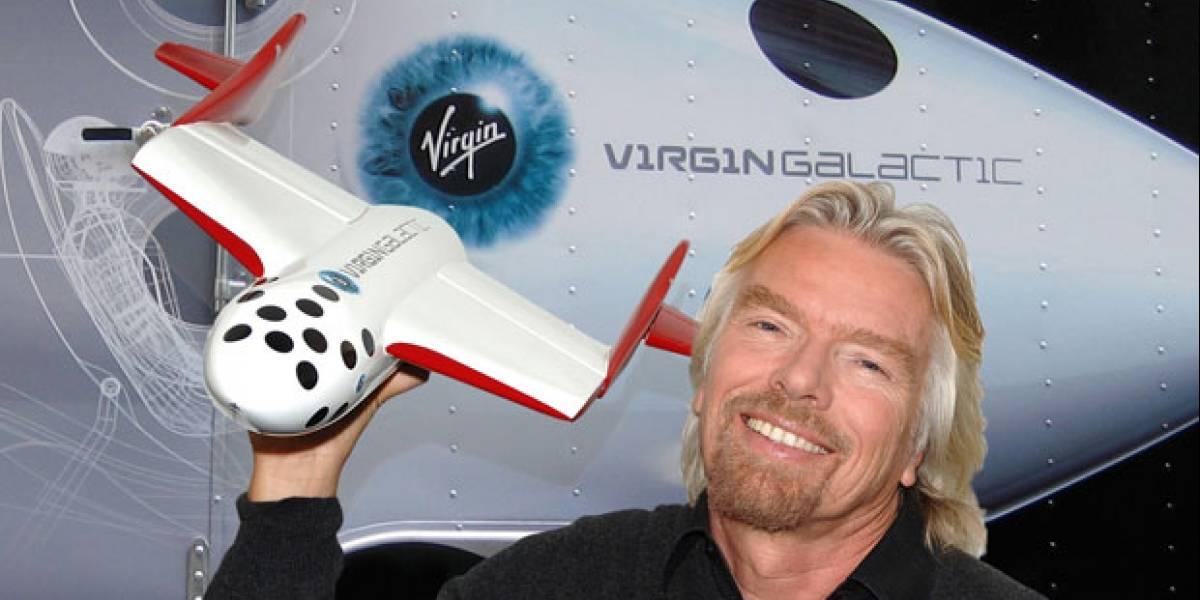 Virgin Galactic realizará sus primeros viajes turísticos al espacio en 2013