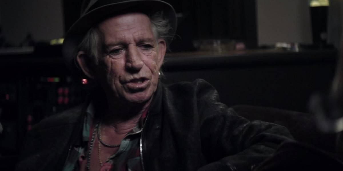 Netflix estrenará documental de Keith Richards el próximo 18 de septiembre