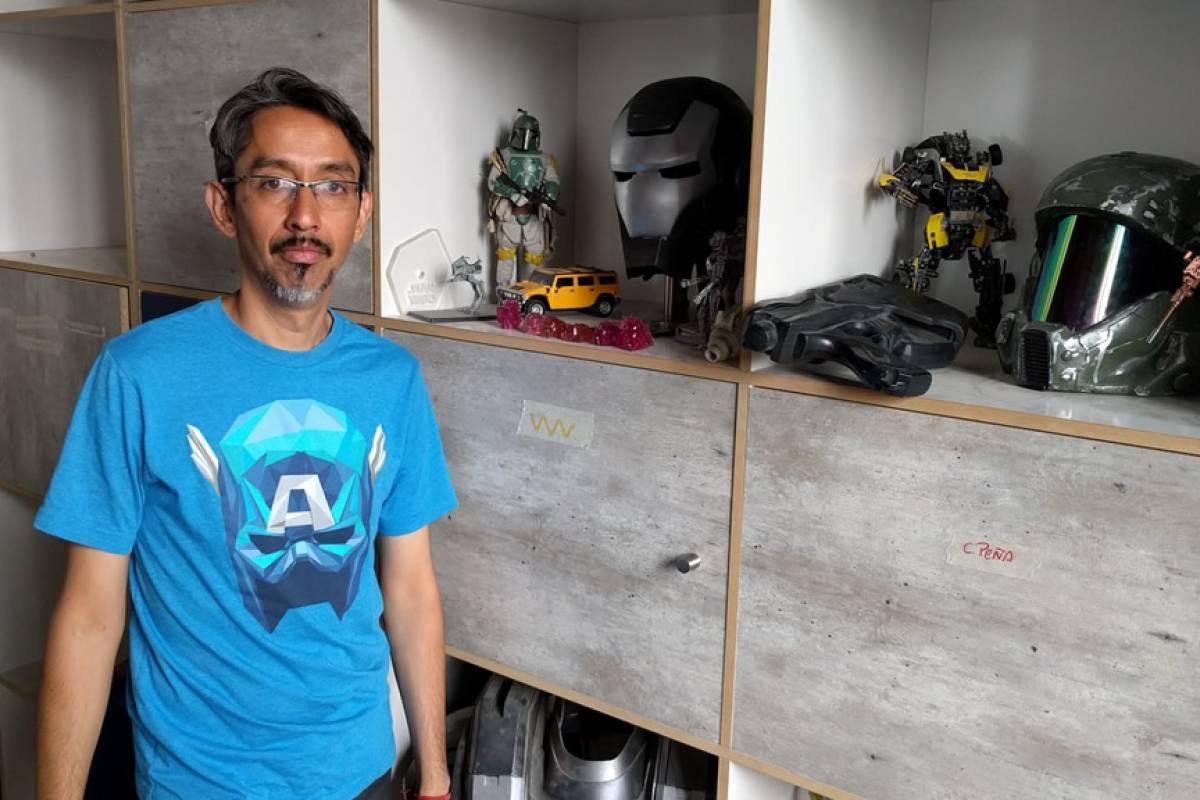 De la basura al juguete: Las obras y trabajos de Rick Stark