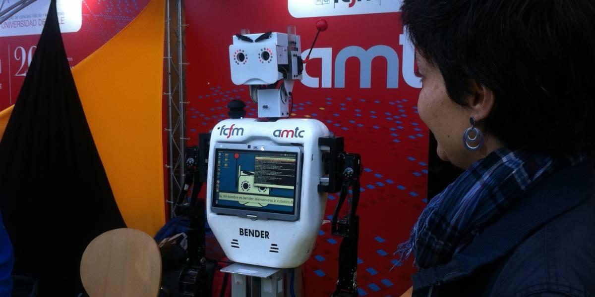 Así fue la primera jornada del Robotics Day 2015