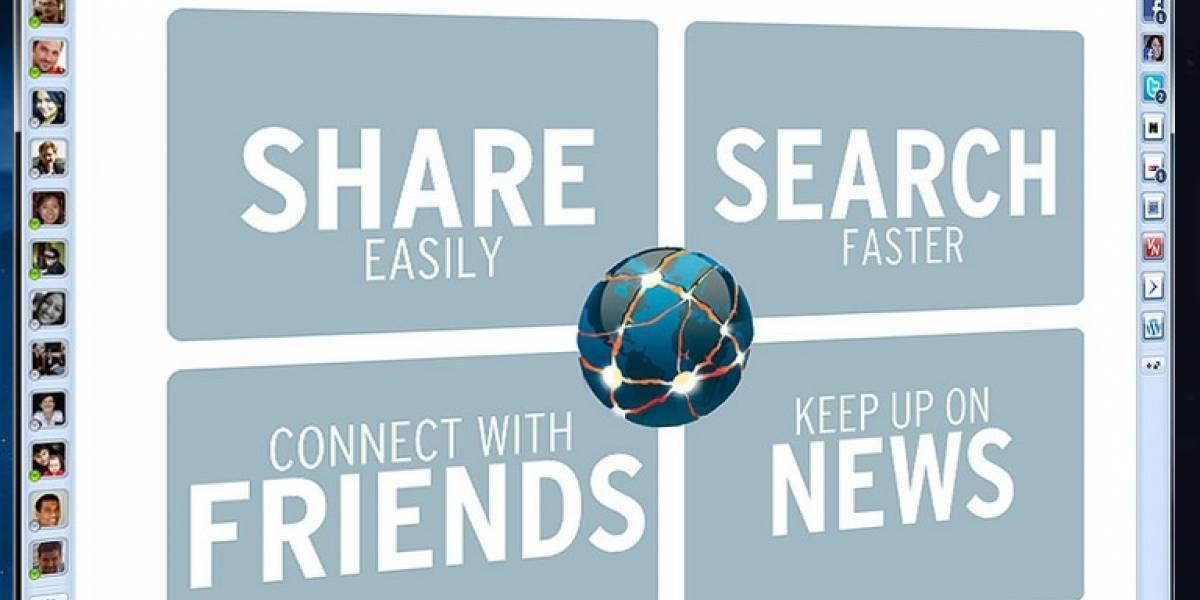 RockMelt, un nuevo navegador para usuarios de redes sociales